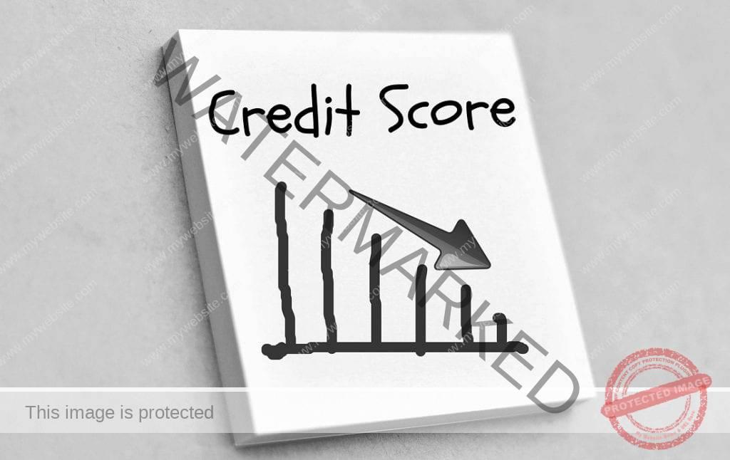 Credit Score Drop