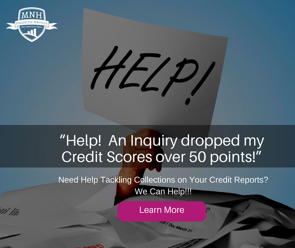 """""""Help! An Inquiry dropped my Credit Scores over 50 points!"""" (2)"""