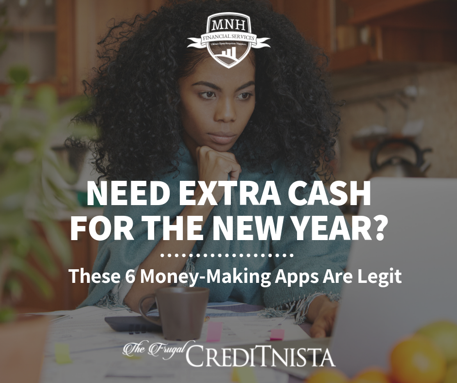 Need Extra Cash for the New year? These 6 Money-Making Apps Are Legit