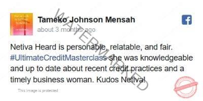 Credit Services Testimonials