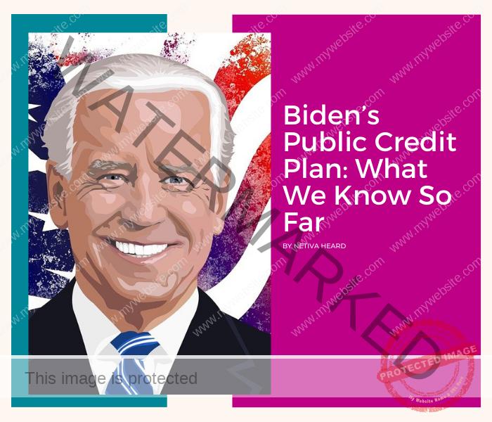 The Biden's Public Credit Plan: What We Know So Far