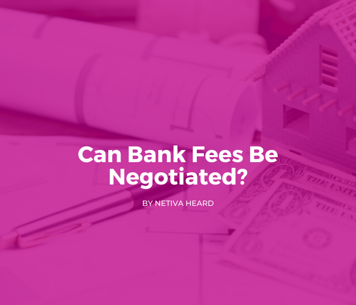 Can Bank Fees Be Negotiated?